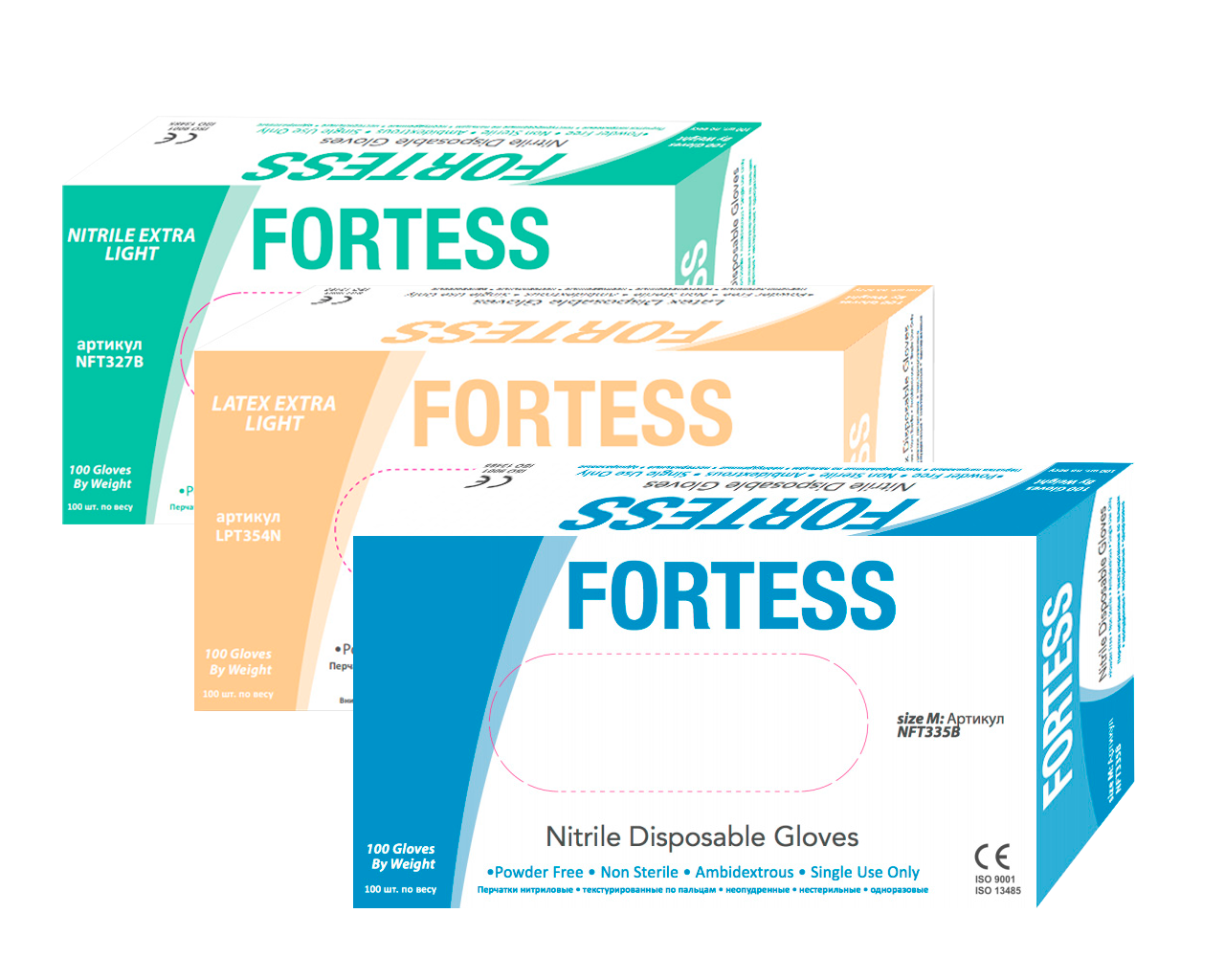 Перчатки Fortess