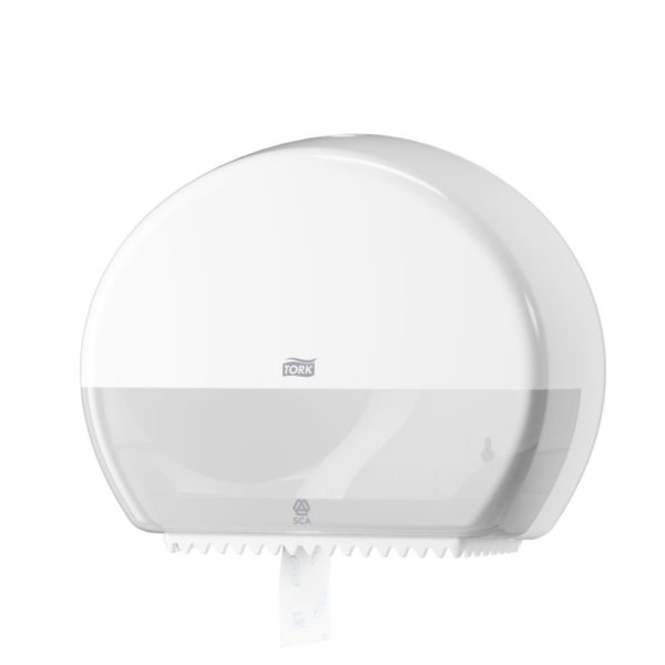 tork-dispenser-dlya-tualetnoj-bumagi-v-mini-rulonah-belyj