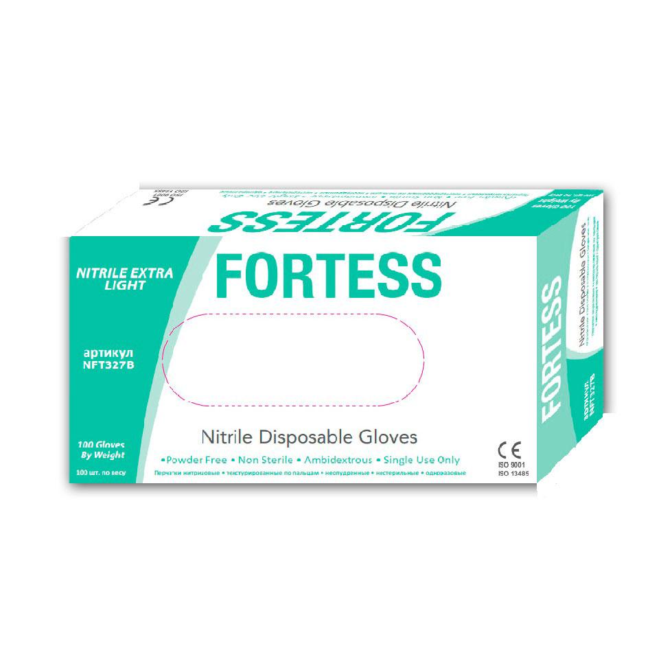 Перчатки Fortess Nitrile 3 г